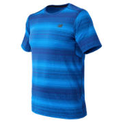 New Balance Kairosport Tee, Atlantic Heather