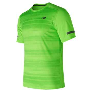 New Balance Max Intensity Short Sleeve, Energy Lime