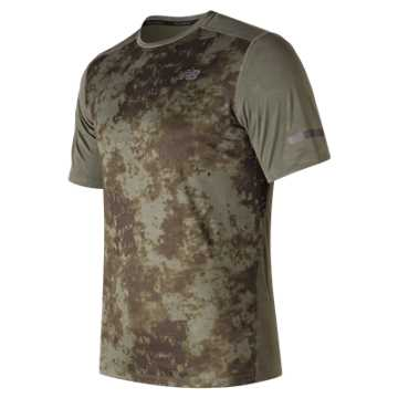 New Balance Max Intensity Short Sleeve, Military Dark Triumph