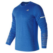 New Balance Viz Long Sleeve, Electric Blue