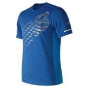 NB Viz Short Sleeve, Electric Blue