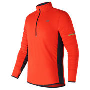 NB Impact Half Zip, Alpha Orange with Supercell