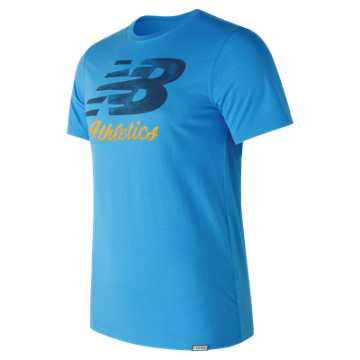 New Balance Flying Script Tee, Helium