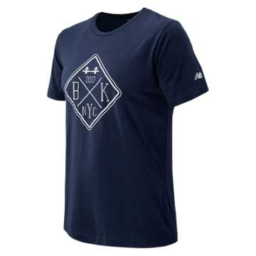 New Balance Brooklyn Half Tee, Navy