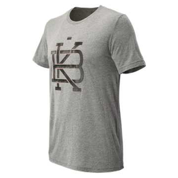 New Balance Brooklyn Half Locked Tee, Grey