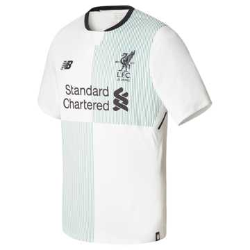 New Balance LFC Away Short Sleeve Jersey, White