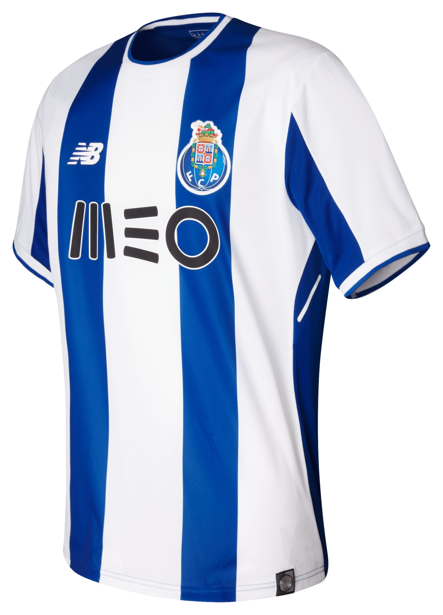 NB FC Porto Mens Home SS Jersey, Oporto Blue
