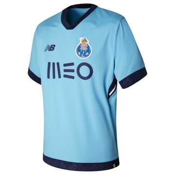 New Balance FC Porto Mens 3rd SS Jersey, Air Blue