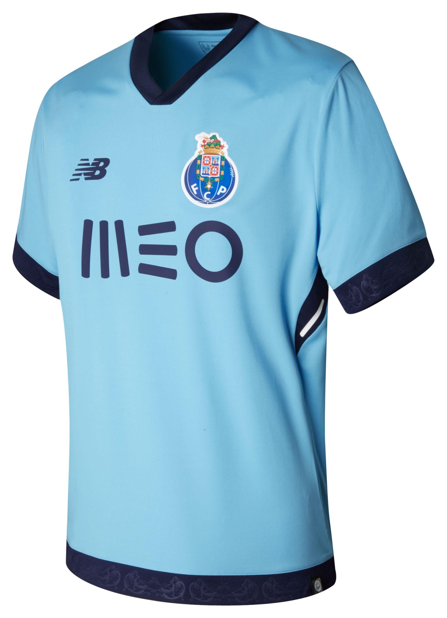 NB FC Porto Mens 3rd SS Jersey, Air Blue