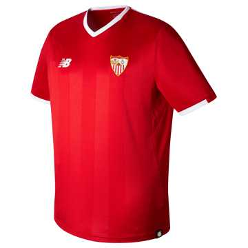 New Balance Sevilla Mens Away SS Jersey, High Risk Red