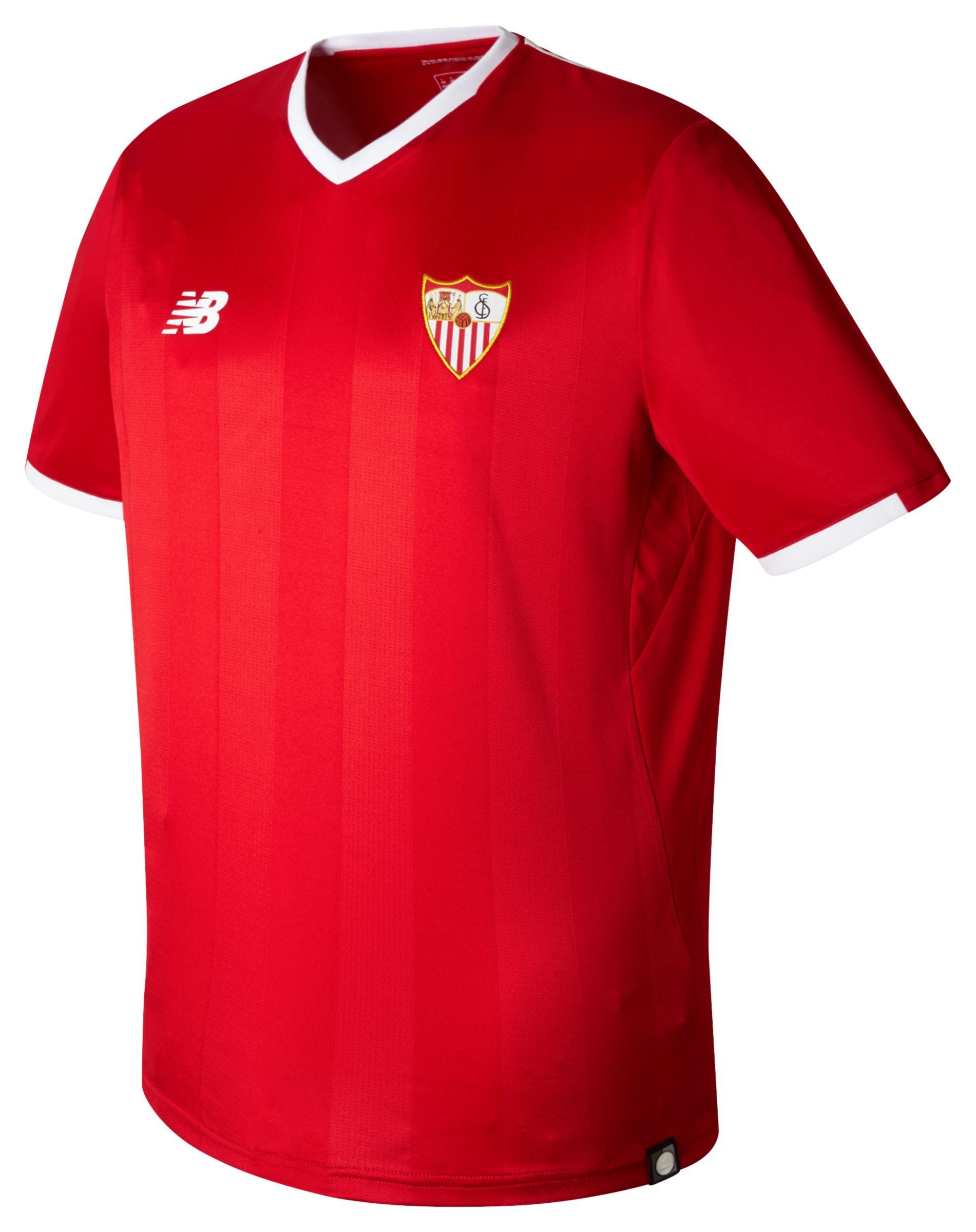NB Sevilla Mens Away SS Jersey, High Risk Red