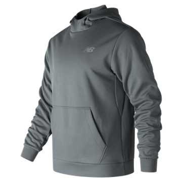 New Balance Game Changer Fleece Hoodie, Gunmetal
