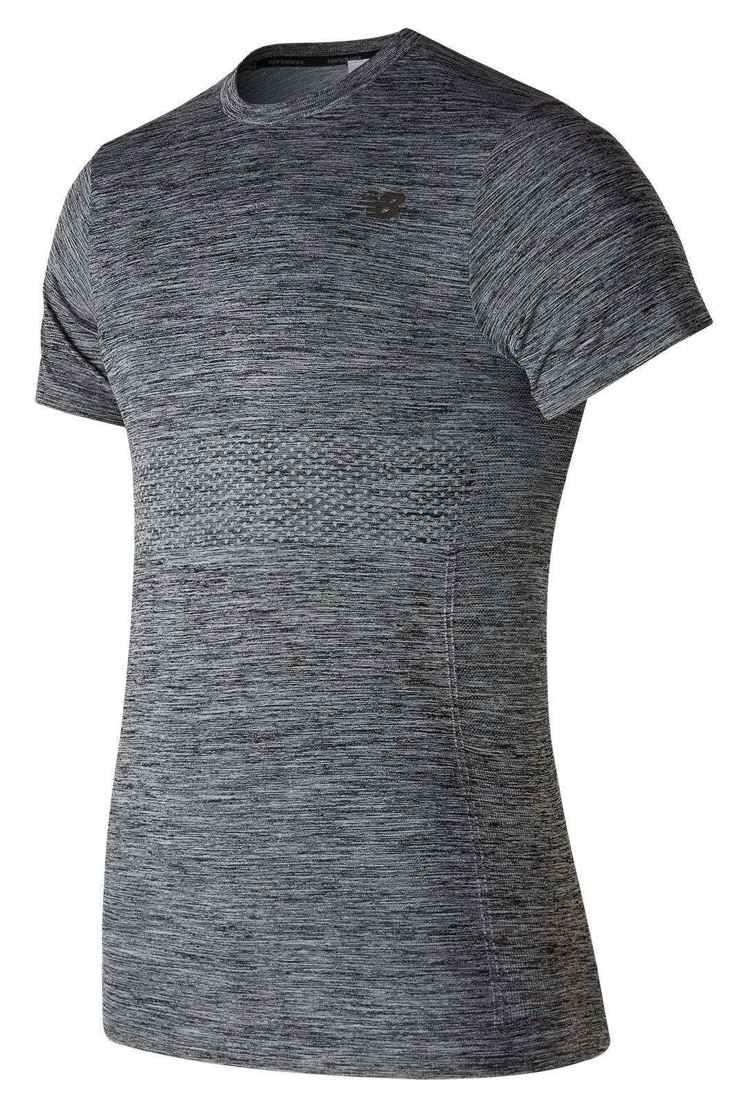 NB M4M Seamless Short Sleeve, Athletic Grey