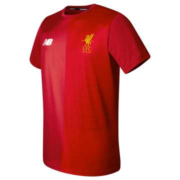 New Balance LFC Elite Training Pre Match Tee, Red Pepper