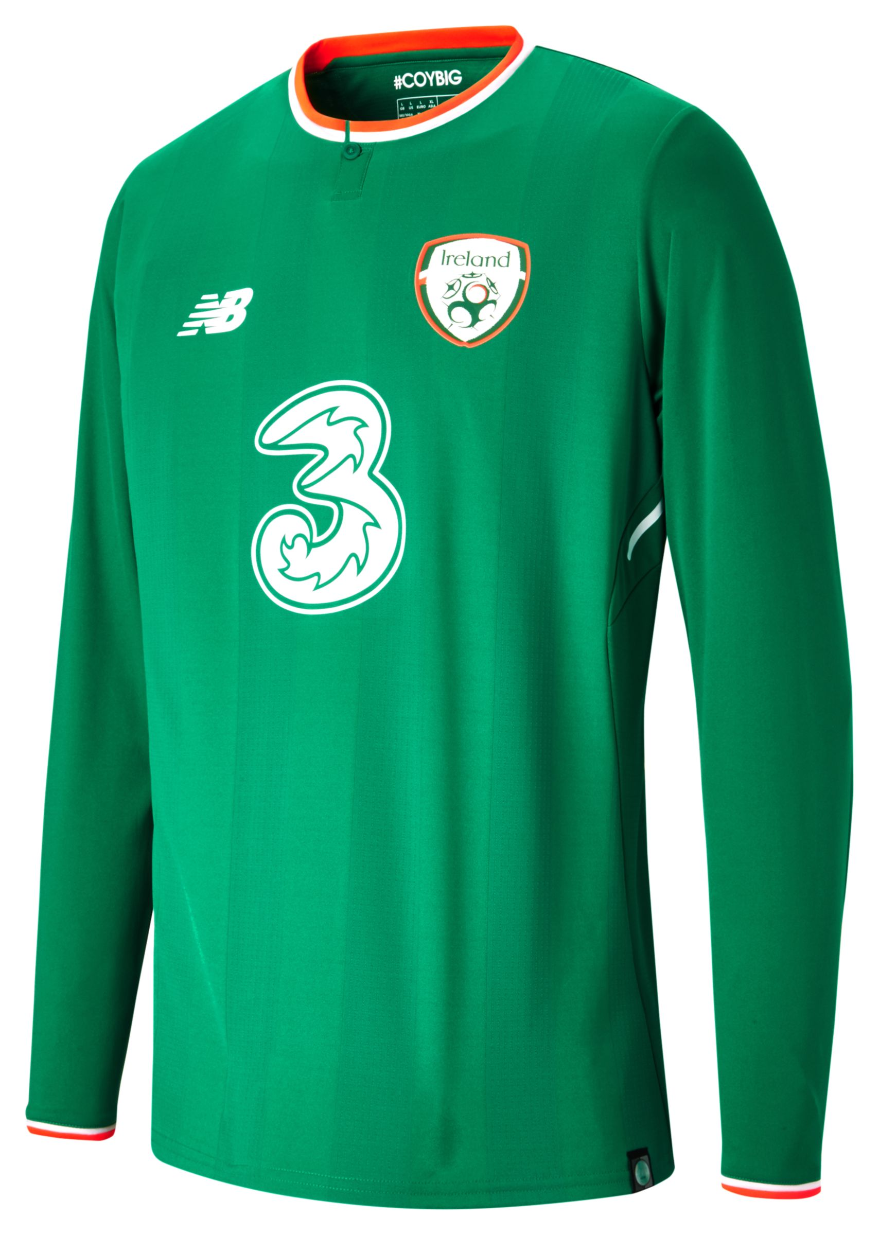 NB FAI Home LS Jersey, Jolly Green