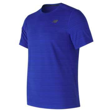 New Balance Fantom Force Short Sleeve Top, Team Royal