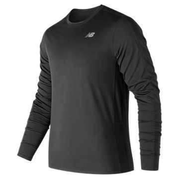 New Balance Accelerate Long Sleeve, Black
