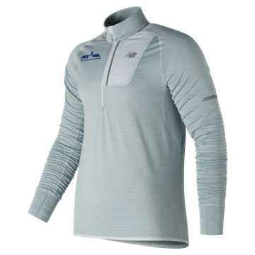 New Balance Run for Life NB Heat Half Zip, Arctic Fox