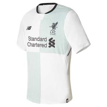 New Balance LFC Mens Henderson Away SS EPL Patch Elite Jersey, White