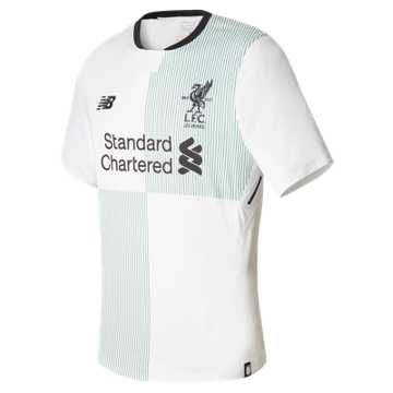 New Balance LFC Mens Firmino Away SS No Patch Elite Jersey, White
