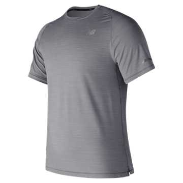 New Balance Seasonless Short Sleeve, Athletic Grey