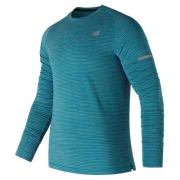 New Balance Seasonless Long Sleeve, Maldives Blue