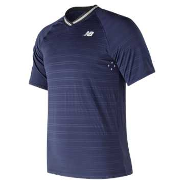 New Balance Tournament V Neck, Dark Cyclone