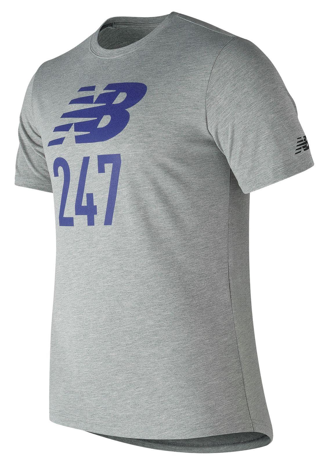 NB 247 Sport Tee, Athletic Grey