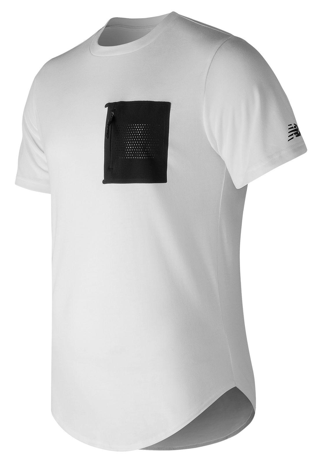 NB 247 Sport Pocket Tee, White