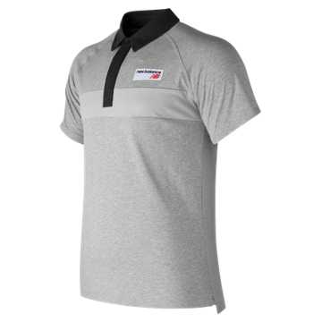 New Balance NB Athletics Polo, Athletic Grey