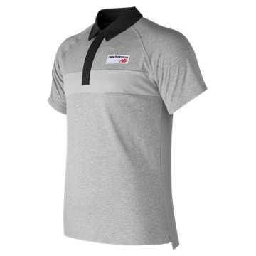 New Balance NB Athletics Polo, Athletic Grey