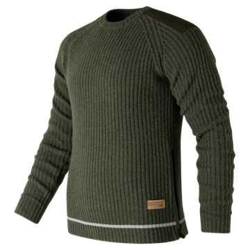 New Balance Re-Engineered Sweater, Military Dark Triumph