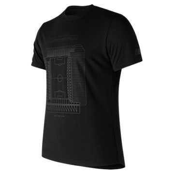 New Balance 247 Sport LFC Pitch Tee, Black