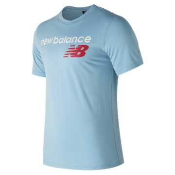 New Balance NB Athletics Main Logo Tee, Clearwater
