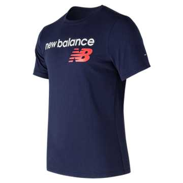 New Balance NB Athletics Main Logo Tee, Pigment