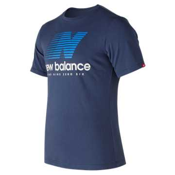 New Balance Essentials Speed Tee, Navy