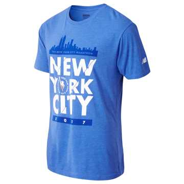 New Balance NYC Marathon Tee, Team Royal