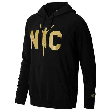 New Balance NYC Marathon Runner Hoodie, Black