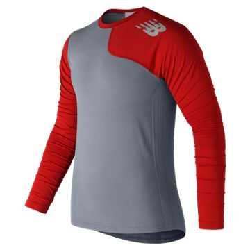 New Balance Seamless Asym Left, Red Pepper