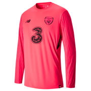 NB FAI Home GK Long Sleeve Shirt, Bright Cherry