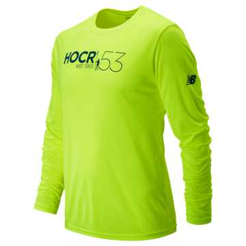 New Balance HOCR Long Sleeve Tech, Lime