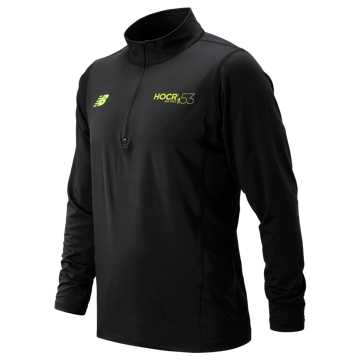 New Balance HOCR Quarter Zip, Black