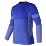NB Stretch Long Sleeve, Pacific