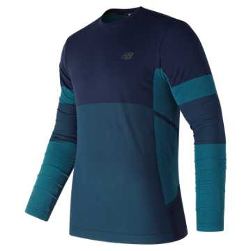 New Balance Stretch Long Sleeve, Pigment