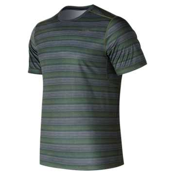 New Balance Anticipate Short Sleeve, Dark Covert Green
