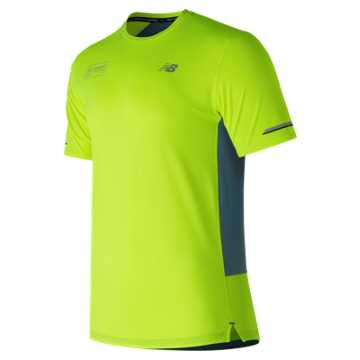 New Balance London Edition NB Ice 2.0 Short Sleeve, Hi-Lite