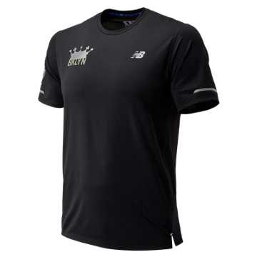 New Balance Brooklyn Half NB Ice 2.0 Short Sleeve, Black