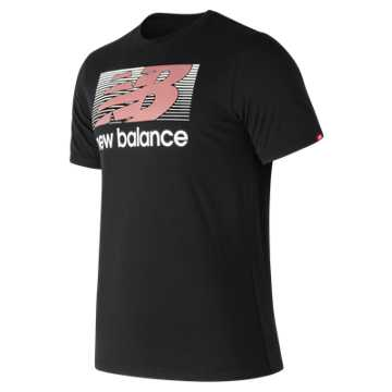 New Balance Danny Tee, Black