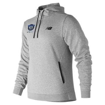 New Balance United NYC Half 247 Sport Hooded Pullover, Athletic Grey