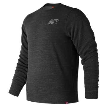 New Balance Heather Crew, Black Heather